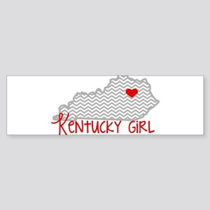 KY Girl Bumper Sticker