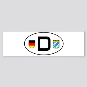 cardecal-land_bavaria Bumper Sticker
