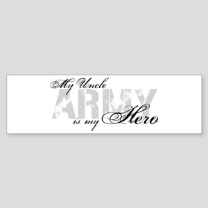 Uncle is my Hero ARMY Bumper Sticker