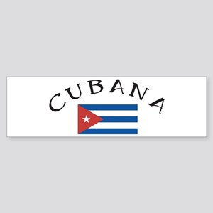 CUBANA Bumper Sticker