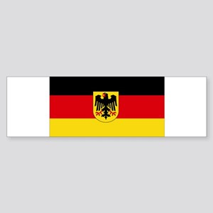 German COA flag Sticker (Bumper)