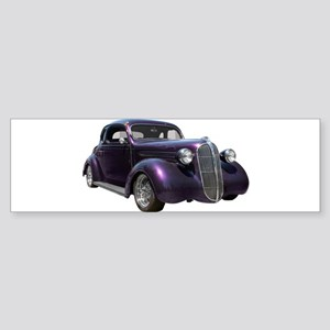 1937 Plymouth P3 Business Cou Sticker (Bumper)