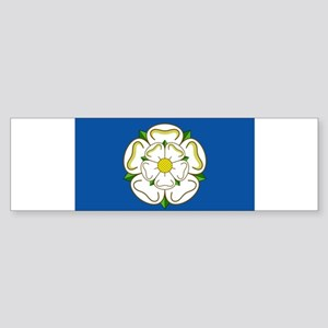 Flag of Yorkshire Bumper Sticker