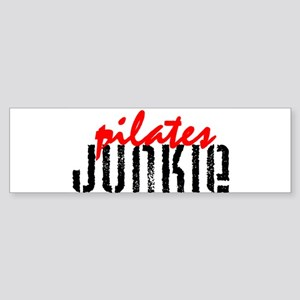 pilates JUNKIE Bumper Sticker