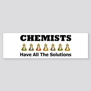 All the Solutions Bumper Sticker