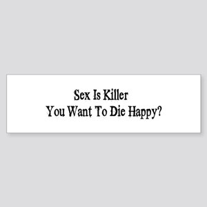 killer Bumper Sticker