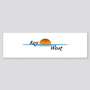 Key West Sunset Bumper Sticker