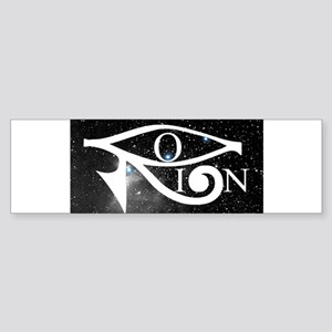Orion and Eye of Horus Bumper Sticker