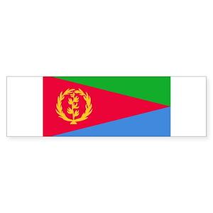 Download Eritrea Flag Bumper Stickers - CafePress