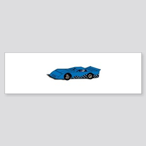 Race Car Bumper Sticker