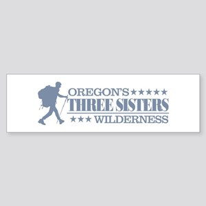 Three Sisters Wilderness Bumper Sticker