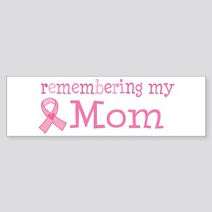 Breast Cancer Mom Sticker (Bumper)
