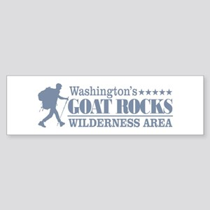 Goat Rocks Bumper Sticker