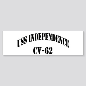 USS INDEPENDENCE Sticker (Bumper)