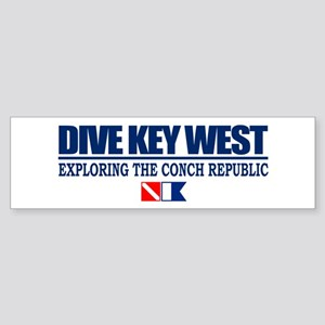 Dive Key West Bumper Sticker
