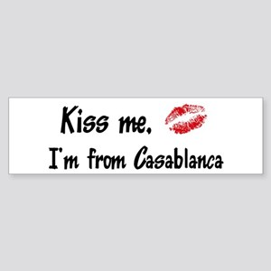 Kiss Me: Casablanca Bumper Sticker