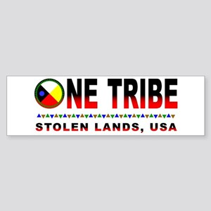 One Tribe Bumper Sticker