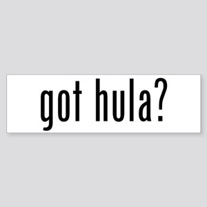 got hula? Bumper Sticker