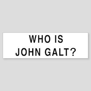 Who John Galt Bumper Stickers Cafepress