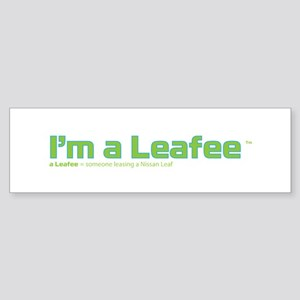 Leafee Bumper Sticker