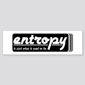 Entropy Sticker (Bumper)