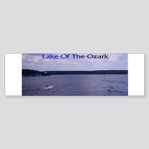 Views of Lake of the Ozarks Bumper Sticker