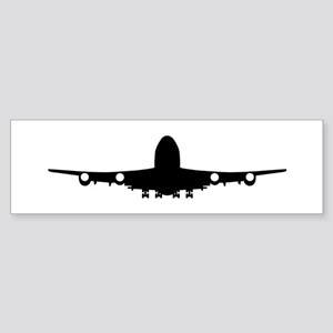 Airplane aviation Sticker (Bumper)