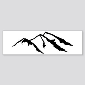 Mountains Sticker (Bumper)