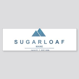 Sugarloaf Ski Resort Maine Bumper Sticker