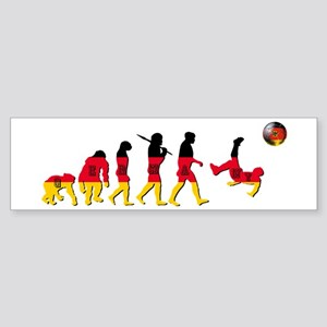 German Football Sticker (Bumper)
