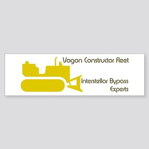 Hitchhiker - Vogon Construction - Sticker (Bumper