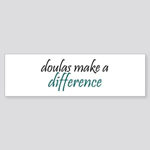 doulas make a difference Bumper Sticker