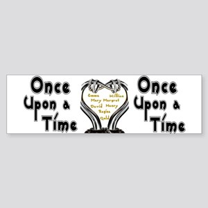 Once Upon A Time Bumper Sticker