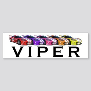 Dodge Viper Bumper Sticker