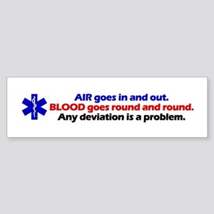 Air/Blood... Bumper Sticker