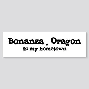 Bonanza - Hometown Bumper Sticker