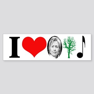 anti Hillary 2008 Bumper Sticker
