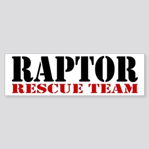 Raptor Rescue Team Bumper Sticker