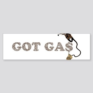 GOT GAS? Bumper Sticker