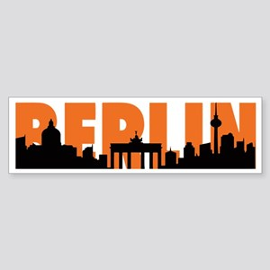 BERLIN SKYLINE Sticker (Bumper)