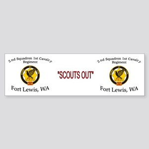 2nd Squadron 1st Cavalry Mug2 Sticker (Bumper)