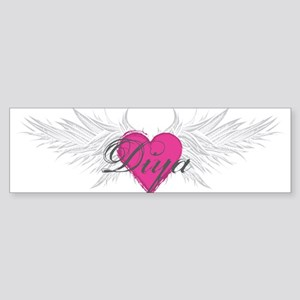 My Sweet Angel Diya Sticker (Bumper)