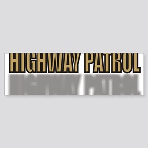 HIGHWAYPATROLTAN Sticker (Bumper)