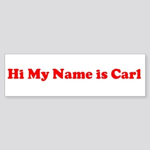 Hi My Name Is Bumper Stickers Cafepress