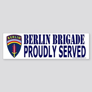 Berlin Brigade Bumper Sticker