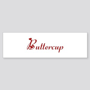 Buttercup (hearts) Bumper Sticker