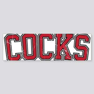 Cocks - Jersey Vintage Bumper Sticker