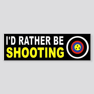 SHOOTING Bumper Sticker