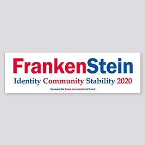 FrankenStein 2020 Bumper Sticker
