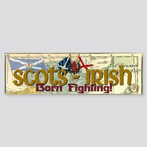 Scots-Irish Bumper Sticker